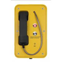 IP67 Marine Auto Telephone With Indicator Light , Mining SOS Industrial Intercom System Manufactures
