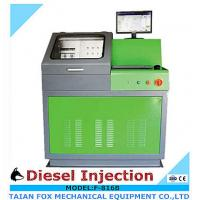 5.5kw/220v/3phase common rail diesel injector test bench with Europe flow sensor