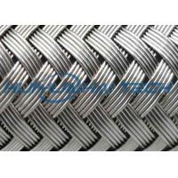 Outside Stainless Steel Braided Sleeving Protecting Cable From Rodents / Mechanical Damage Manufactures