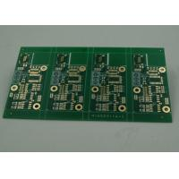 High TG Four Layer Matt Green FR4 PCB Board Immersion Gold Finish White Silkscreen Manufactures