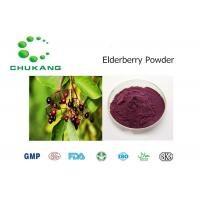 China 100% Pure Elderberry Fruit Powder Sambucus Nigra L. Protect And Regenerate Retinal Purple Rhodopsin on sale