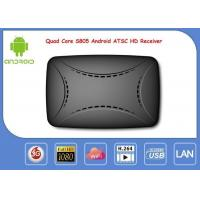 S805 Android Smart IPTV Box ATSC Digital ATSC Receiver Support Global Channels Manufactures