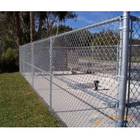 China football playground mesh/chain link mesh fence/galvanized 9 gauge 12 ft fence on sale
