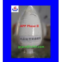 China Intumescent fire retardant additive(APP Phase II) on sale