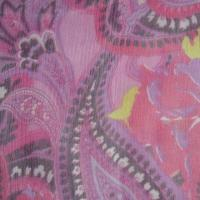 Silk Georgette Fabric with Width of 114cm Manufactures
