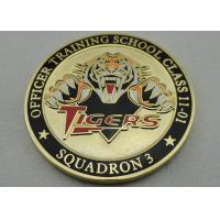 Double Sided Officer School Personalized Coins with synthetic enamel and Gold, Copper, Silver Plating Manufactures