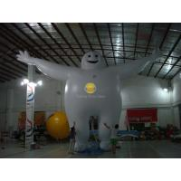 Large Inflatable Customized Guy Shape Balloons with Full digital printing for sport event Manufactures