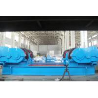 Loading Capacity 300 Ton Double Sides Inverter Motor Drive Metal Wheels Working Rotator / Pipe Turning Rollers Manufactures