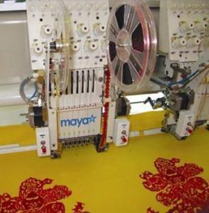 China Mayastar 1000rpm Embroidery Machine on sale