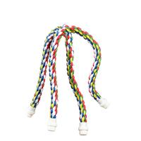 cross cotton rope perch for birds,amazon and conures,colors vary Manufactures