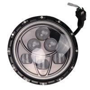 30V 60w 7 Inch IP67 Car LED Fog Lights / Led Angle Eye Headlights Manufactures