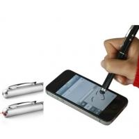 3 IN 1 multifunction mini Capacitive Screen touch Stylus Pen with LED light laser pointer Manufactures