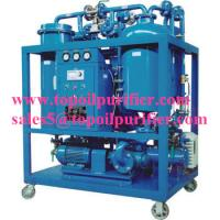 Continuous steam turbine oil purifier plant,no pollution,strong emulsification,improve the turbine oil