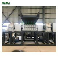 China Top Feed Structure Scrap Metal Shredder Equipment For Waste Mattress / Rubber Foam on sale