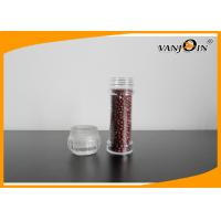 100ml Salt and Pepper Mills Spice Clear Plastic Food Containers / Plastic Jar with PC cap Manufactures