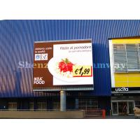 China High Brightness Outdoor Advertising Led Screen Video Display Signs Rental 6mm Pixels on sale