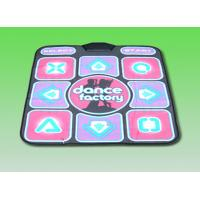 Single Player 2 In 1 USB Dance Pad , TV / PC 16 Bit TV Dancing Mat Manufactures