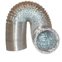 """6"""" HVAC Systems Double Layer Corrugated Aluminum Flexible Air Duct Manufactures"""