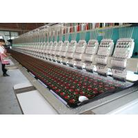 Commercial Large Scale Computerized Embroidery Machine Advanced Technology Manufactures