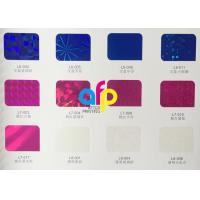 Quality Various Patterns Laser Holographic Film , 16 Micron Cardboard Hot Stamping Film for sale