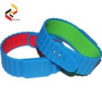 High quality friendship bracelets HF UHF  Silicon RFID NTAG215 silicone bracelet for couple for swimming pool Manufactures