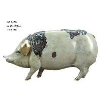 Home Decoration Polyresin Pig Figirine (D24-99006) Manufactures