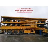 China 40 Tons Payload Used Truck Trailers Leaf Spring Mechanical Suspension on sale