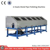 Automated Ss Pipe Polishing Machine Low Noise Level Vibration With Six Heads Manufactures