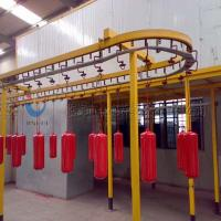 Complete Powder Coating Line Powder Coating System For Fire Extinguisher Manufactures