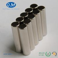 Industrial Monopole N50 Sintered Neodymium Magnet Cylinder Shaped High Strength Manufactures