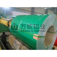 Roofing PE PVDF Painted Aluminium Coil Easy Constructed 900-1500mm Width Manufactures