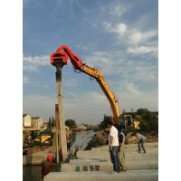 China TYSIM VS400 Excavator Mounted Pile Driver / Pile Driving Hammer 2.15t on sale