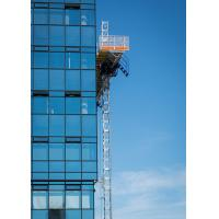 Quality Double and Single 200m Mast Climbing Work Platforms For Hotel Cleaning, High Security for sale