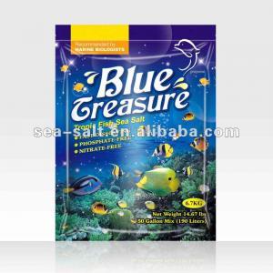 Blue Treasure Tropical Fish Sea Salt Manufactures