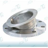 Lapped Titanium Pipe Fittings Flanges Connected With Lap Joint Stub Ends Manufactures