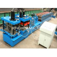 Colored Steel Sheet Metal Roll Forming Machine With Hydraulic Cutter Machine  Manufactures