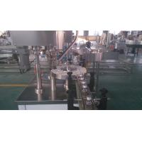 Single Head ROPP Bottle Capping Equipment 2000BPH For Aluminium Caps Manufactures