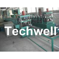18 Groups Forming Roller Stand Upright Rack Roll Forming Machine for Storage Rack Manufactures