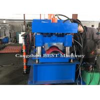 High Efficiency 255mm Ridge Cap Roll Forming Machine With Pressing For Tile Manufactures