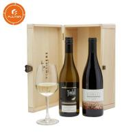 Classic wine packaging gift box with button wine gift box storage wine box Manufactures