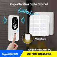 battery operated wireless door bell ,1000ft working range,52chimes and the night lights Manufactures