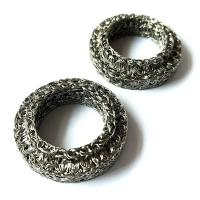 Compressed Knitted Wire Mesh Filter Disc For Snow Foam Lance Replacement