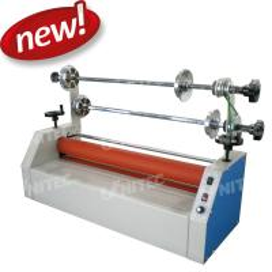 Adjustable BU-650II Cold Roll Laminator Machine Plus Foot Pedal