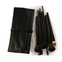 Pony Goat Pink Professional Makeup Brushes With Brush Cup Holder Manufactures