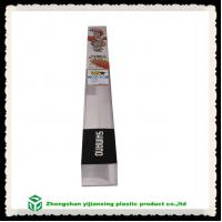 China Fishing tackle plastic custom packaging for rods on sale
