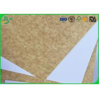 120gsm - 200gsm Coated White Top Liner Paper Water Resistant For Magazine Printing Manufactures