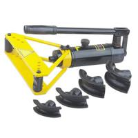China SWG-1 hydraulic pipe bender for bending steel tube, metal pipes, Jeteco Tools brand. on sale
