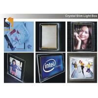A3 Acrylic Advertising Light Box Display, Illuminated Menu Boards For Restaurants Manufactures