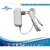 White Power Adapter Wall Mounted Switching Power Supply 5W -24W Manufactures