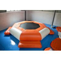 0.9mm PVC Tarpaulin Inflatable Floating Water Trampoline Manufactures